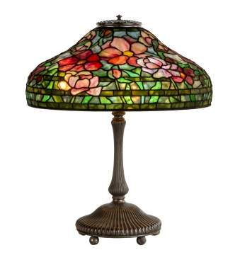 "Tiffany Studios, New York, ""Peony"" Table Lamp"