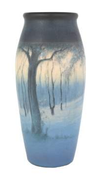 Rookwood Art Pottery Scenic Vase