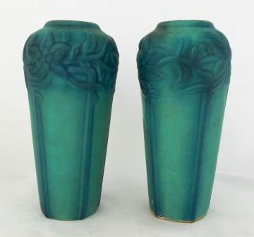 Pair of Van Briggle Pottery Vases