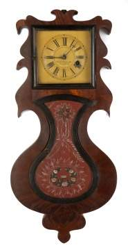Rare Forestville Mfg. Co. Hanging Acorn Clock