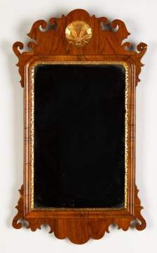 Chippendale Walnut Mirror