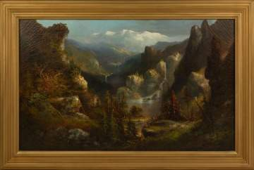 19th Century American Mountain Landscape