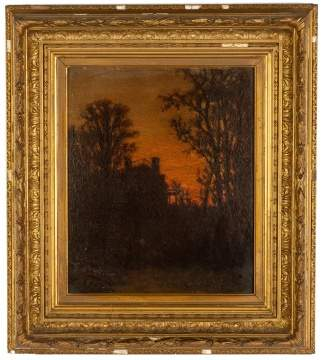R.L. Pyne, Sunset Painting