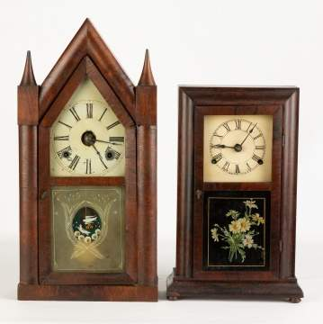 Steeple and Shelf Clock