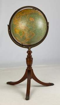 Floor Globe by Hammonds, Brooklyn, NY