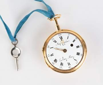 Jacques Coulin Pocket Watch