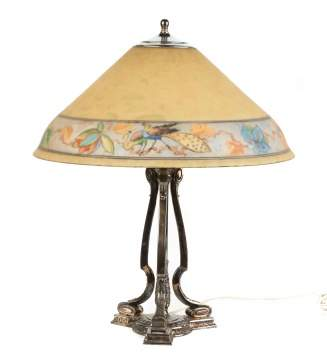 Pairpoint Reverse Painted Table Lamp