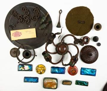 Tiffany Lamp Parts and Accessories