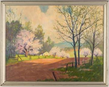 Clifford Ulp (American, 1885–1958) Spring Landscape