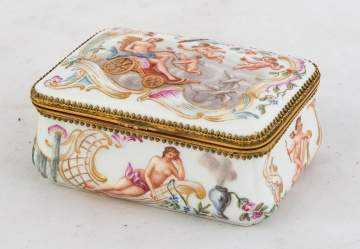 Meissen Covered Box