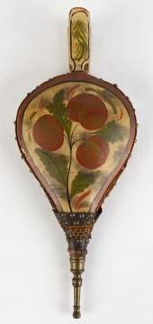 Early 19th Century Hand Painted Bellows