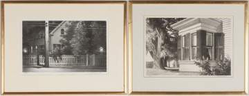Pair of Stow Wengenroth (American, 1906-1978) Lithographs