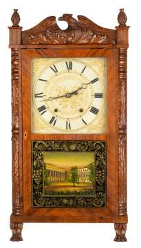 Eli Terry & Sons Shelf Clock