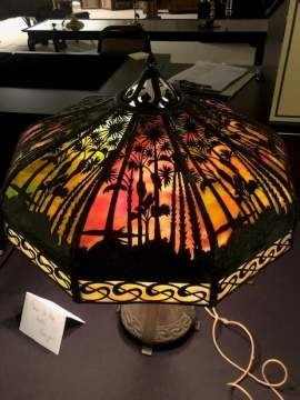 Handel Tropical Sunset Table Lamp