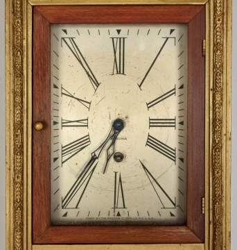 Ansonia Mirror Wall Clock