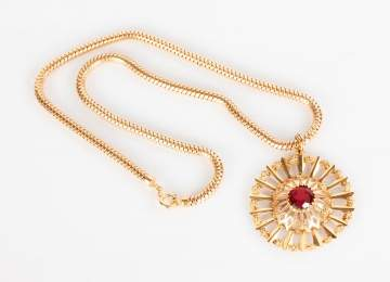 Ladies 18K Gold Necklace