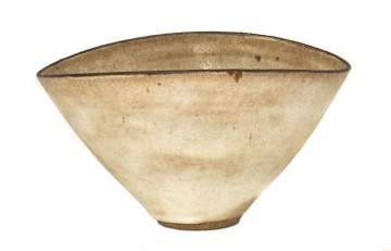 Lucie Rie (British, 1902- 1995) Large Oval Bowl