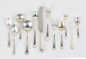 Gorham Sterling Flatware Set