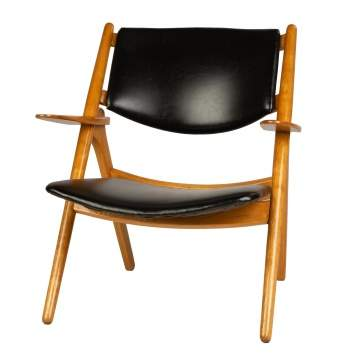 Hans J. Wegner (Danish, 1914-2007) The Sawback Chair