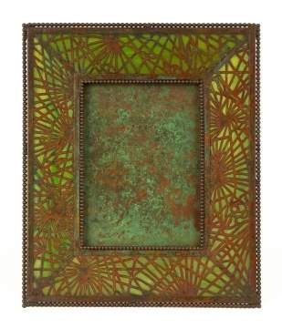 Tiffany Studios, NY Pine Needle Picture Frame