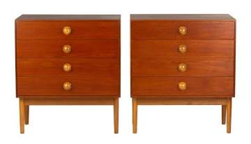 Pair of Borge Mogensen (Danish, 1914-1972) Cabinets