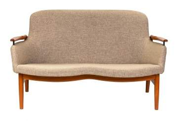 Finn Juhl Settee (Danish, 1912-1989) Model NV-53