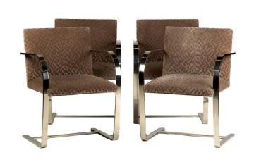 Mies Van der Rohe (1886-1969) Bruno Chairs