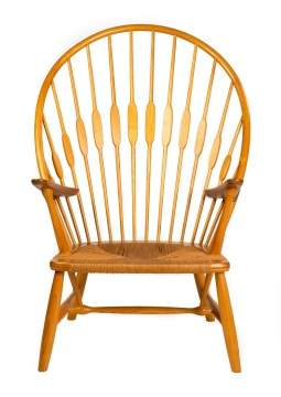 "Hans J. Wegner (Danish, 1914-2007) ""Peacock"" Chair"