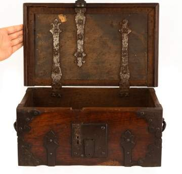 17/18th Century Spanish Strong Box