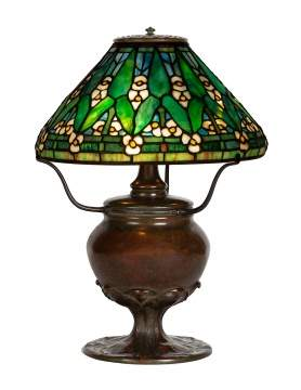 "Tiffany Studios, New York, ""Arrowroot"" Table Lamp"