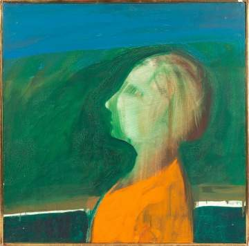 James Jarvaise  (American, b. 1931) Head of a Woman