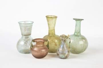 Five Pieces of Roman Glass