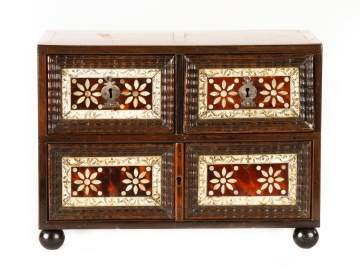 18th Century Finely InlaId Cabinet