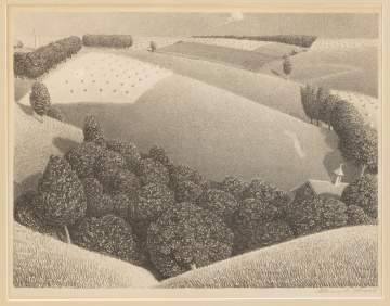 Grant Wood (American, 1892-1942) July 15th