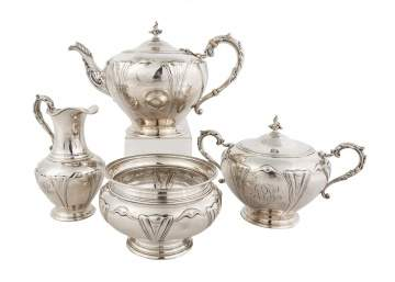 Ball, Thompkins & Black Sterling Tea Set