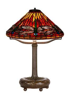 "Tiffany Studios, New York, ""Dragonfly"" Table Lamp"