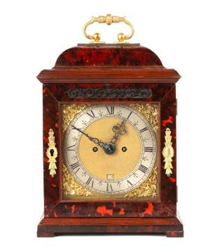 Fine Diminutive Shell Cased Bracket Clock