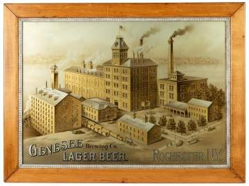 Genesee Brewery Company Advertising Sign