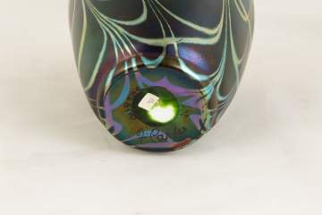 Fine Steuben Decorated Vase