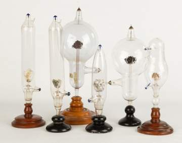Scientific Blown Glass Items with Various Elements