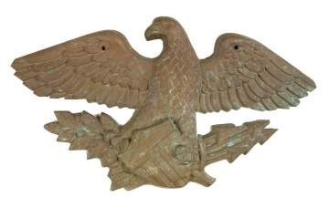 Early 20th Century Bronze Eagle