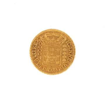 Brazilian Gold Coin, 1726