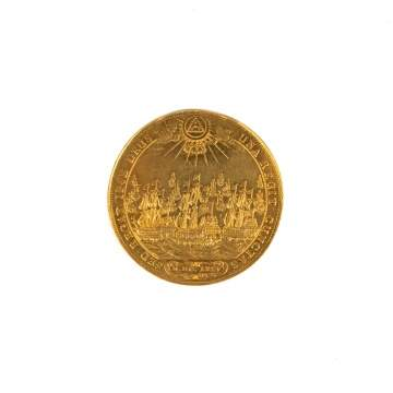 Hamburg 1675, 10 Duecats. Gold Coin.