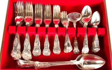 King Pattern Sterling Flatware