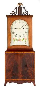 Attributed to Fraser Forgie, Fryburg, ME, Shelf  Clock