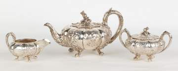 Starr and Mortimer Sterling Teapot