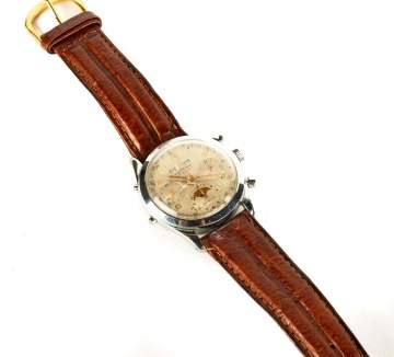 Vintage Temporis 7 Ruby Wrist Watch