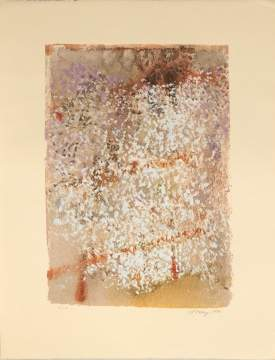 "Mark Tobey, (American, 1890 – 1976)  ""Blossoming Moments"""