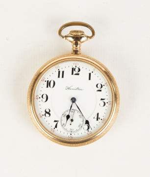 Hamilton 21 Jewel Pocket Watch