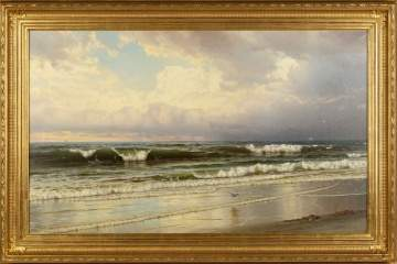 William Trost Richards (American, 1833 - 1905), Seascape